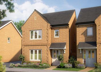 "Thumbnail 3 bedroom detached house for sale in ""The Cypress"" at Gidding Road, Sawtry, Huntingdon"