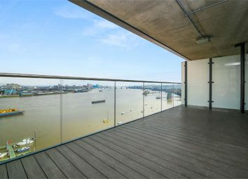 Thumbnail 3 bed flat to rent in Platinum Riverside, 15 Bessemer Place, London