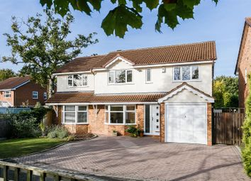 Thumbnail 5 bed detached house for sale in Clarewell Avenue, Hillfield, Solihull