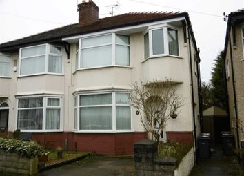 Thumbnail 3 bed property for sale in Somerset Road, Wallasey, Wirral