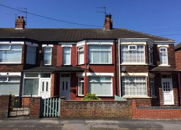 Thumbnail 2 bedroom terraced house for sale in Luton Road, Spring Bank West, Hull