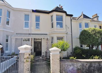 Thumbnail 4 bed terraced house for sale in Hermitage Road, Mannamead, Plymouth