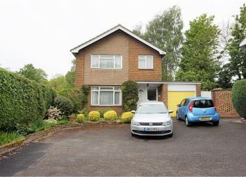 Thumbnail 3 bed detached house for sale in The Mead, Petersfield