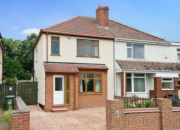 Thumbnail 2 bed semi-detached house for sale in Belt Road, Hednesford, Cannock