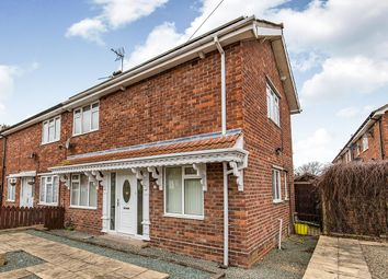 Thumbnail 3 bed semi-detached house for sale in Lowmoor Road, Darlington