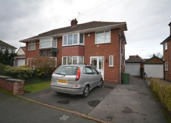Thumbnail 3 bed semi-detached house to rent in Barcombe Road, Heswall, Wirral