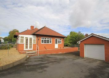 Thumbnail 3 bed detached bungalow for sale in Brymbo Road, Bwlchgwyn, Wrexham