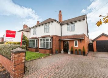 Thumbnail 4 bed detached house for sale in Hassall Road, Alsager, Stoke-On-Trent, Cheshire