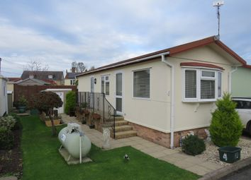 Thumbnail 1 bed mobile/park home for sale in Ivy House Park, Henlade, Taunton
