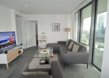 Thumbnail 2 bed flat for sale in Dollar Bay, Lawn House Close, London