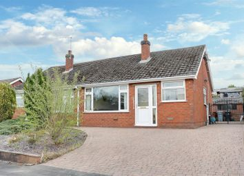 Thumbnail 2 bed semi-detached bungalow for sale in Brown Avenue, Church Lawton, Stoke-On-Trent