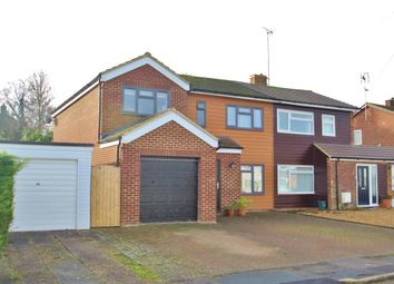 Thumbnail 4 bed semi-detached house for sale in Portfield Close, Buckingham