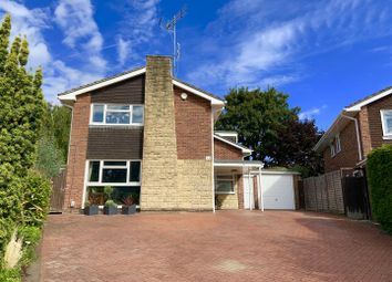 Thumbnail 4 bed detached house for sale in Cheviot Close, Newbury