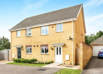 Thumbnail 3 bed semi-detached house for sale in Boundary Close, Henlow, Bedfordshire, England