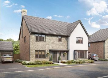 Thumbnail 4 bed detached house for sale in Grasslands Close, Witney, Oxfordshire