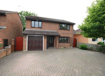 Thumbnail 4 bed detached house to rent in Cavell Road, Billericay