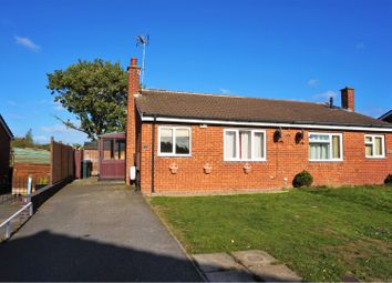 Thumbnail 2 bed semi-detached bungalow for sale in Edward Street, Hartshorne, Swadlincote