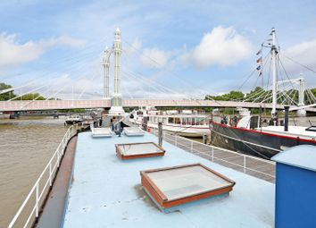 Thumbnail 2 bed houseboat for sale in Cadogan Pier, Chelsea