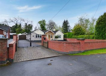 Thumbnail 3 bed detached bungalow for sale in Grace Dieu Road, Whitwick, Coalville, Leicestershire