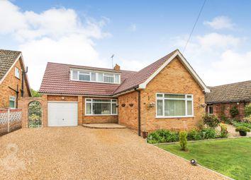 Thumbnail 3 bed property for sale in Oakcroft Drive, Framingham Earl, Norwich