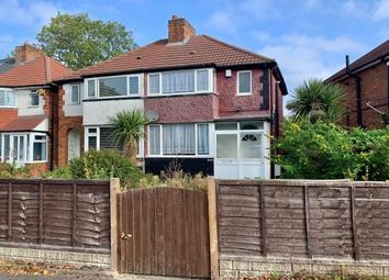 Thumbnail 3 bed semi-detached house to rent in Wharfdale Road, Birmingham