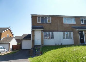 Thumbnail 2 bedroom semi-detached house for sale in Spencer Drive, Llandough, Penarth