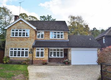 Thumbnail 4 bed detached house for sale in Portesbery Road, Camberley