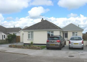Thumbnail 4 bed detached bungalow to rent in The Crescent, Widemouth Bay, Bude, Cornwall