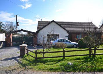 Thumbnail 3 bed detached bungalow for sale in Ffynnongain Lane, Pwlltrap, St. Clears, Carmarthen