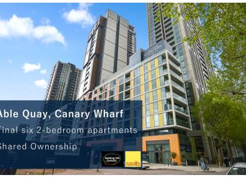 Harbour Way, London E14. 2 bed flat