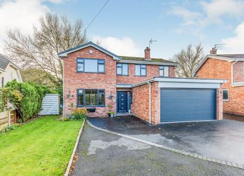 Thumbnail 4 bed detached house for sale in Newcastle Road South, Brereton, Sandbach, Cheshire