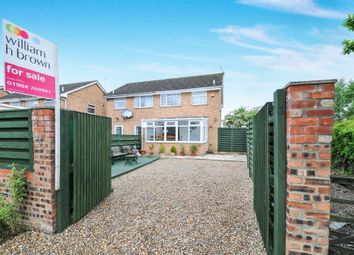 Thumbnail 3 bedroom semi-detached house for sale in Corner Close, Wigginton, York