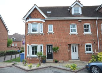 Thumbnail 4 bed end terrace house for sale in Campbell Fields, Aldershot, Hampshire