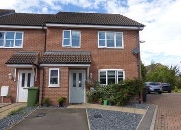 Thumbnail 4 bedroom end terrace house for sale in Franklin Way, Watlington, King's Lynn