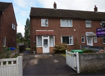 Thumbnail 3 bed semi-detached house for sale in Cornishway, Manchester