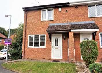 Thumbnail 3 bed end terrace house for sale in Marigold Close, Swindon