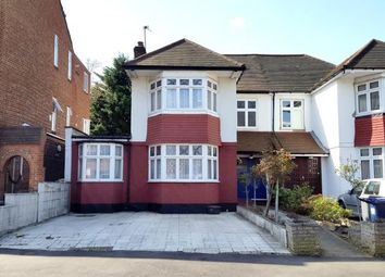 Thumbnail 4 bed semi-detached house for sale in Crown Lane, Southgate, London