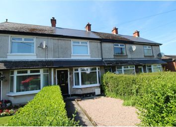 Thumbnail 2 bed terraced house for sale in Broadway, Bangor