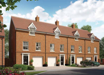Thumbnail 3 bedroom town house for sale in The, Oakley Park, Mulbarton, Norfolk