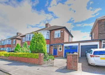 Thumbnail 3 bed semi-detached house for sale in Park Avenue, Gosforth, Newcastle Upon Tyne