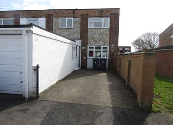 Thumbnail 3 bed end terrace house to rent in Inkpen Walk, Havant