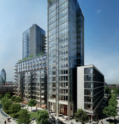 Thumbnail 1 bed flat to rent in Satin House, 15 Piazza Walk, London