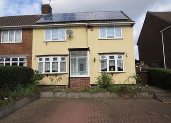 Thumbnail 3 bed semi-detached house for sale in Churchill Road, Walsall