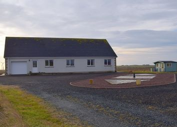Thumbnail 4 bed detached bungalow for sale in Occumster, Lybster