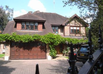 Thumbnail 6 bed detached house to rent in Old Avenue, West Byfleet, Surrey