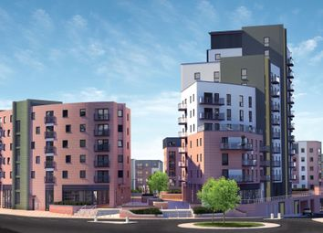 Thumbnail 2 bed flat for sale in Keppel Rise, Southampton