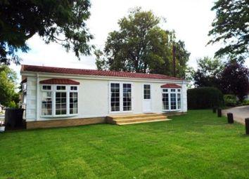 Thumbnail 2 bed mobile/park home for sale in Ranksborough Hall Park, Langham, Oakham, Rutland
