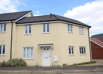 Thumbnail 3 bed terraced house for sale in Portland Way, Great Blakenham, Ipswich, Suffolk