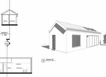 Thumbnail 1 bedroom detached bungalow for sale in Barrack Road, Christchurch
