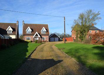 Thumbnail 4 bed detached house for sale in Shop Street, Whinburgh, Dereham, Norfolk.